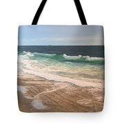 Atlantic Beach Waves Tote Bag