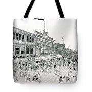 Atlantic City Boardwalk 1900 Tote Bag