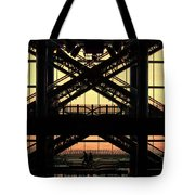 Atlantic City Mall Escalators  Tote Bag