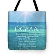 Atlantic Ocean Tote Bag