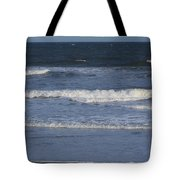 Atlantic Ocean Gradient Tote Bag