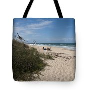 Atlantic Ocean On The East Central Coast Of Florida Tote Bag