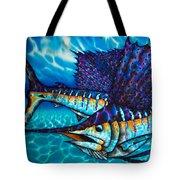 Atlantic Sailfish Tote Bag