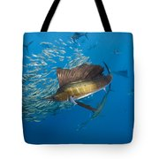 Atlantic Sailfish Hunting Tote Bag