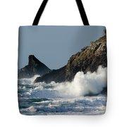 Atlantic Splash Tote Bag