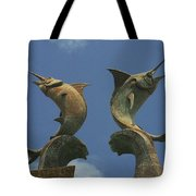 Atlantis Swordfish Tote Bag