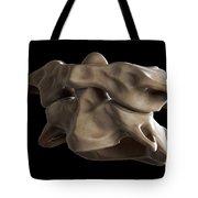 Atlas And Axis Vertebrae Tote Bag