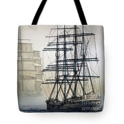Atlas And Inverclyde Tote Bag by James Williamson