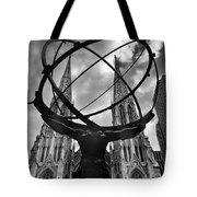 Atlas Holding The Heavens Tote Bag