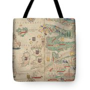 Atlas Miller Nautical Atlas Tote Bag