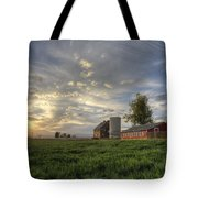 Atmosphere And Alfalfa - Larimer County, Colorado Tote Bag