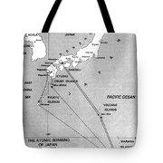 Atomic Bombing Of Japan, 1945 Tote Bag