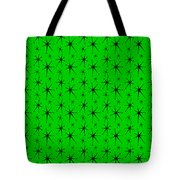 Atomic Starbursts Mini Tote Bag by Donna Mibus