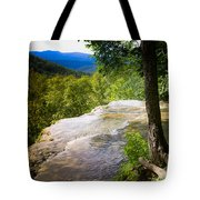 Atop Falling Spring Fall Tote Bag