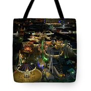 Atop The Ferris Wheel Tote Bag