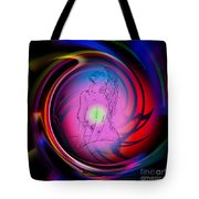 Atrium Abstract - Perfection Akt Tote Bag