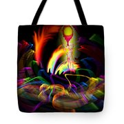 Atrium Outburst Angel Tote Bag