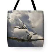 Attack Out Of The Sun Tote Bag