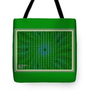 Attempt L A With Decorative Ornate Printed Frame. Tote Bag