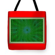 Attempt L B With Decorative Ornate Printed Frame. Tote Bag
