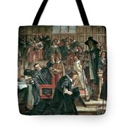 Attempted Arrest Of 5 Members Of The House Of Commons By Charles I Tote Bag