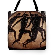 Attic Black-figured Vase Tote Bag