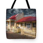 Attic House Tote Bag