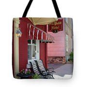 Au Petit Hotel Quebec City  6525 Tote Bag