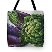 Aubergines And An Artichoke Tote Bag