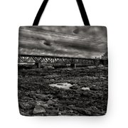 Auburn Lewiston Railway Bridge Tote Bag