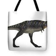 Aucasaurus Dinosaur Isolated On White Tote Bag