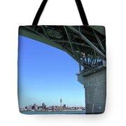 Auckland Harbour And Bridge Tote Bag