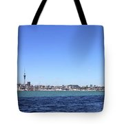 Auckland Harbour Tote Bag