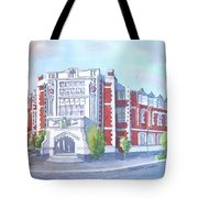 Auckland Ideal Org #2 Tote Bag by Debbie Lewis