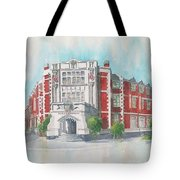 Auckland Ideal Org #3 Tote Bag by Debbie Lewis