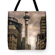 Auckland Sky Tower Tote Bag