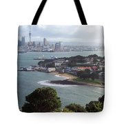 New Zealand - Picturesque Devonport Beach Tote Bag