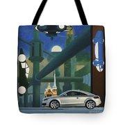Audi Gaudi - The Retro Of The Future Tote Bag