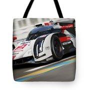 Audi R18 E-tron, Le Mans - 12 Tote Bag