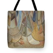 Audience For The Ceremonial Dancers Tote Bag