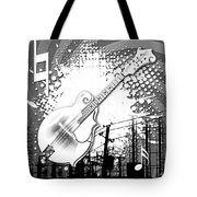 Audio Graphics 4 Tote Bag