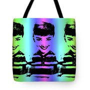 Audrey Hepburn Art Tote Bag