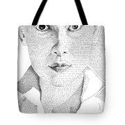 Audrey Hepburn In Her Own Words Tote Bag