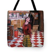 Audrey Horne Twin Peaks Resident Tote Bag