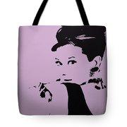 Audrey Pink Tote Bag
