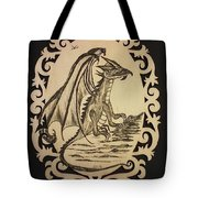 Audrey's Dragon Tote Bag by Ginny Youngblood