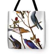 Audubon: Bluebirds Tote Bag