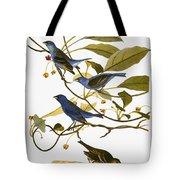 Audubon: Bunting, 1827-38 Tote Bag