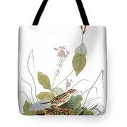 Audubon: Bunting Tote Bag