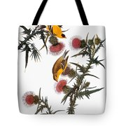 Audubon: Goldfinch Tote Bag